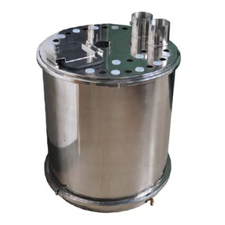 Steel Powder Hopper for Powder Sieving Machine