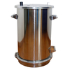 70 Pounds Stainless Steel Powder Coating Hopper